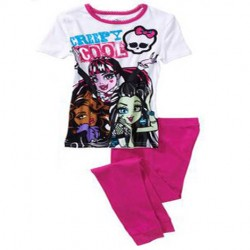 Pijama Monster High - Rosa