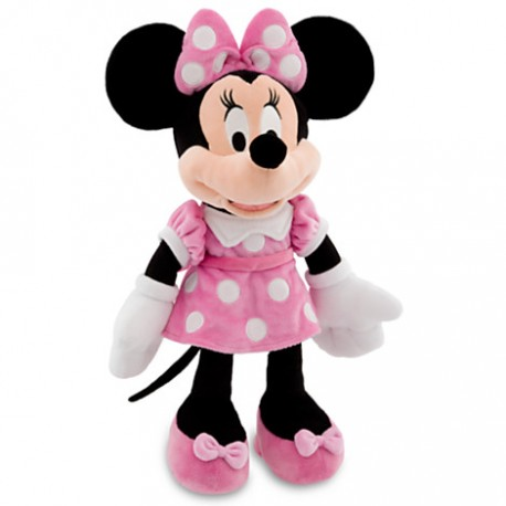 Peluche minnie mouse rosada